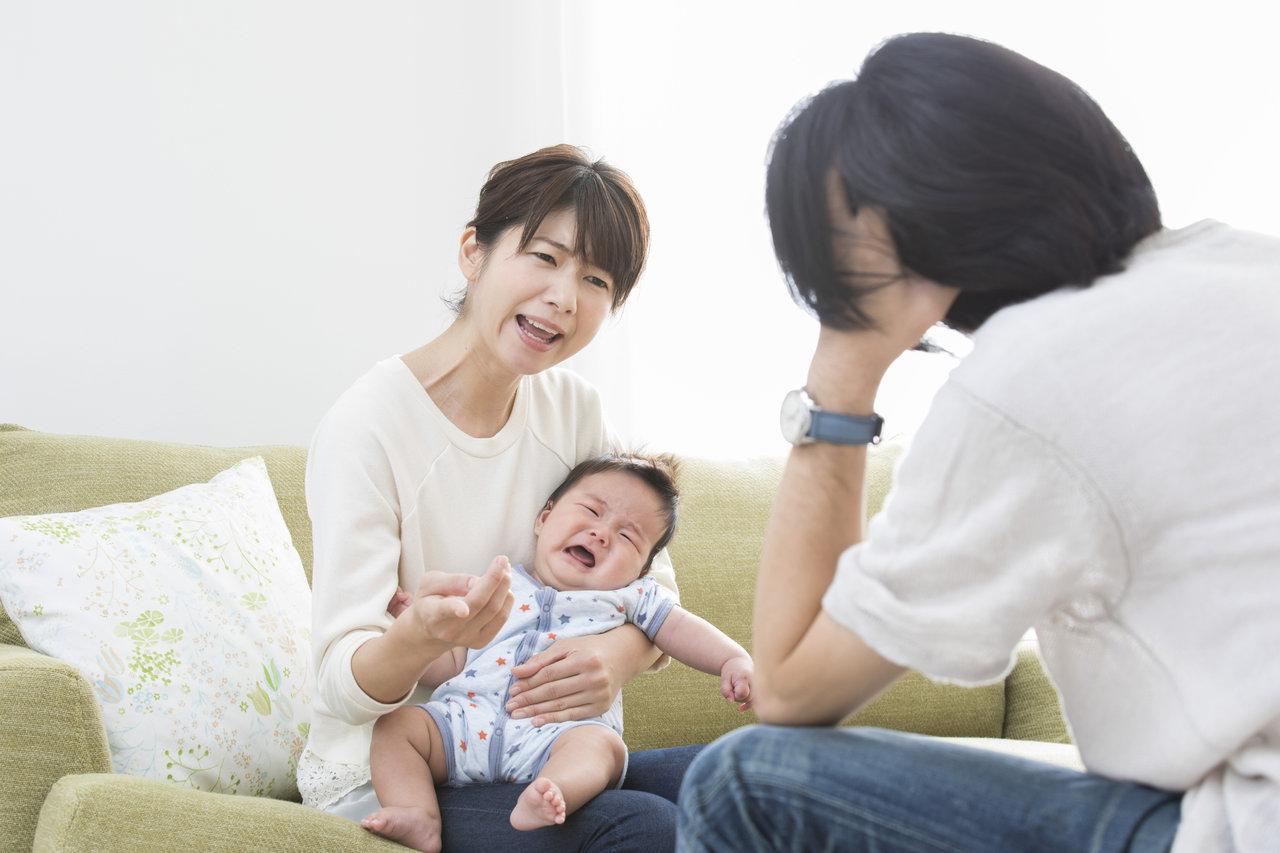 育児ストレスで家族や物にあたる!八つ当たりする前にできること