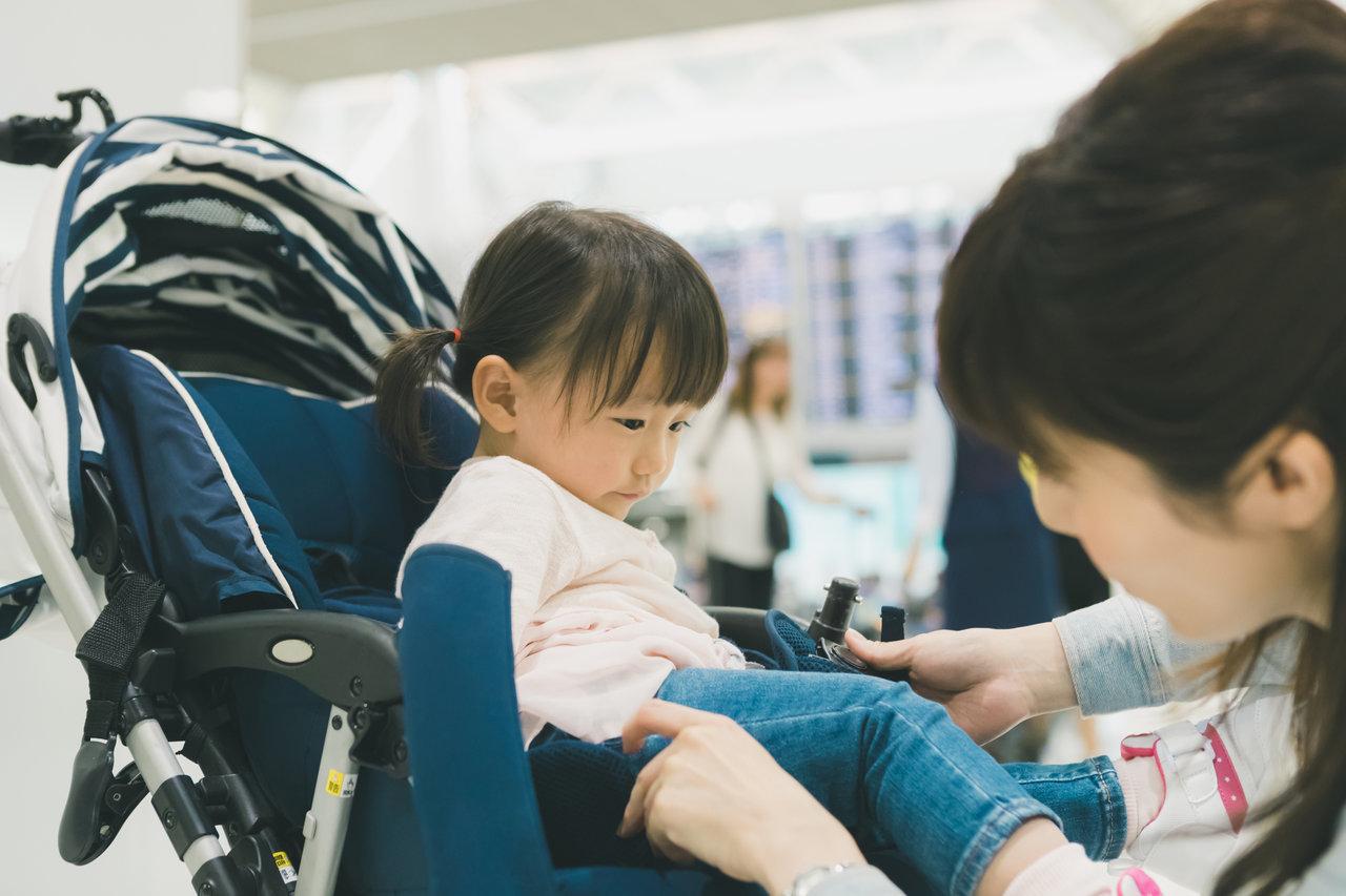 新千歳空港でベビーカーを使うなら?子連れ旅行を快適にする情報
