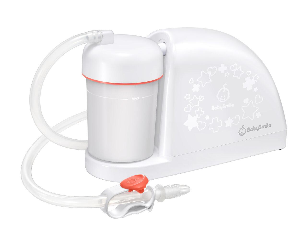電動鼻水吸引器「メルシーポット」がリニューアル! 新モデル発売中