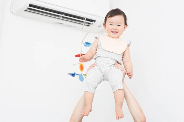 乳児に優しいエアコンの使い方は?上手な利用方法やメンテナンスを紹介  - teniteo[テニテオ]