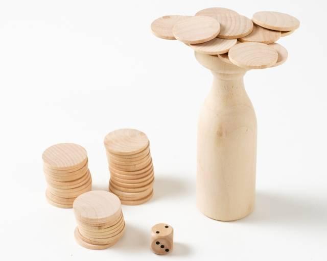 ボトルチップス - Apty Styleは東京おもちゃ美術館公認ミュージアムショップです。グッド・トイやおもちゃ職人による木のおもちゃを中心にあなたに最適な玩具をご提案します。