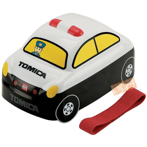 【楽天市場】トミカ 立体お弁当箱 パトカー 182921:知育玩具・おもちゃ通販 トライブ