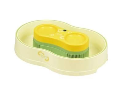 D-1335 楽しクルクル 電池式そうめん流し器<L>(ひまわり)  (¥3,758) 【パール金属|調理道具のファミリーキッチン】