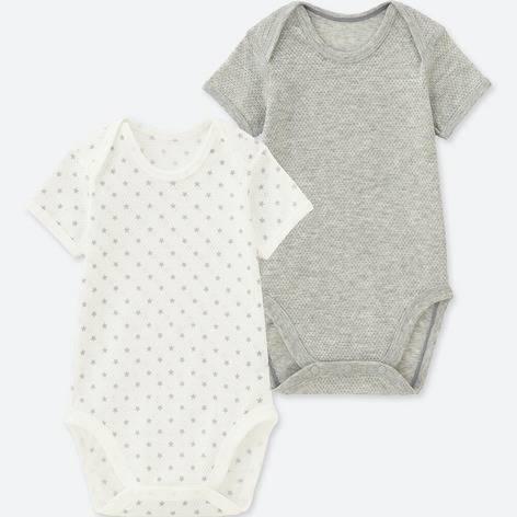 ユニクロ|コットンメッシュインナーボディ(半袖・2枚組)70-90サイズ|BABY(赤ちゃん服)|公式オンラインストア(通販サイト)