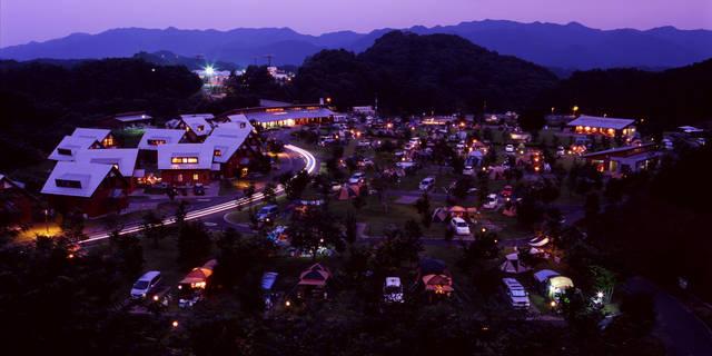 大子広域公園オートキャンプ場 グリンヴィラ||茨城県大子町