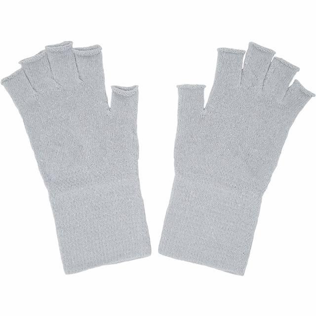 Amazon | シルクハンドウォーマー 手袋 指なし