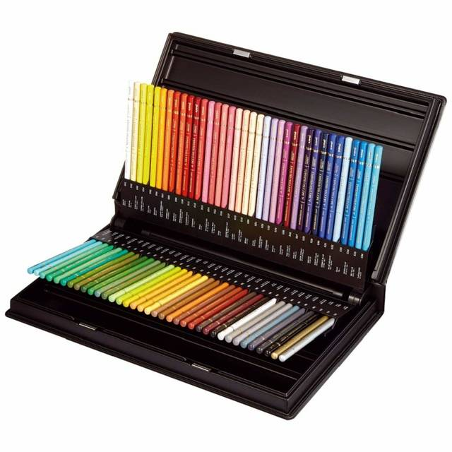 Amazon | 三菱鉛筆 色鉛筆 ユニカラー 72色