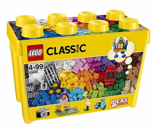 Amazon | レゴ (LEGO) クラシック 黄色のアイデアボックス スペシャル