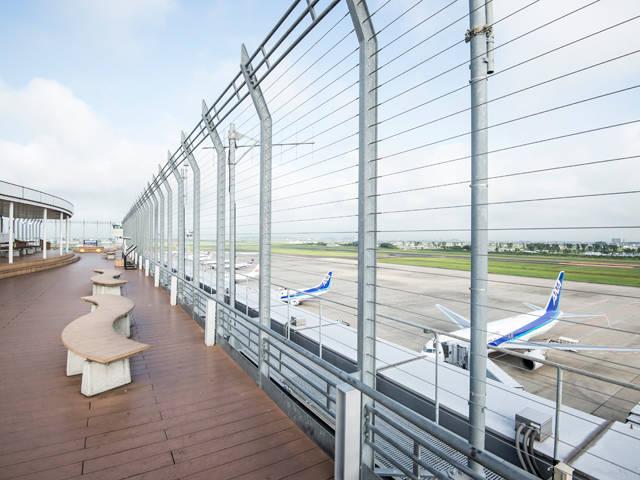 展望デッキ「スマイルテラス」|仙台国際空港|Sendai International Airport Co.,Ltd.