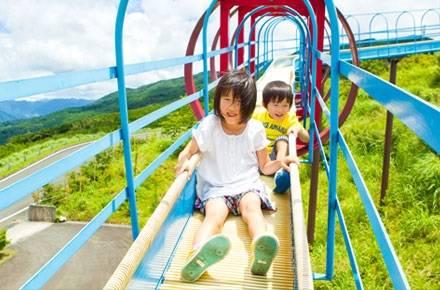 風とあそぶ ゆとりすとパークおおとよ - 高知県大豊町のオートキャンプ場、ハーブ園