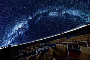 プラネタリウム「デジタルスタードームほたる」