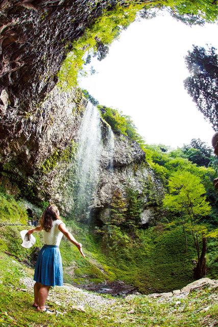 壇鏡の滝|スポット|隠岐の島旅