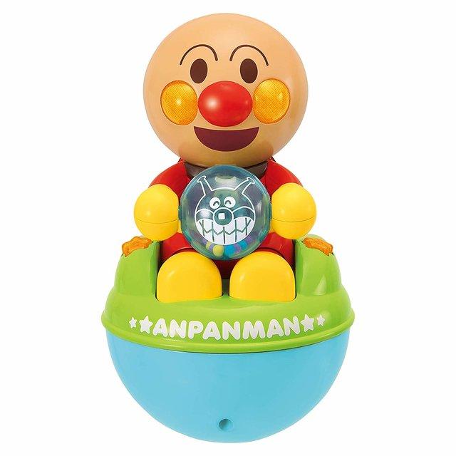 Amazon | アンパンマン おててあそびで成長! 3モードのくるピカローリー | がらがら・ラトル | おもちゃ
