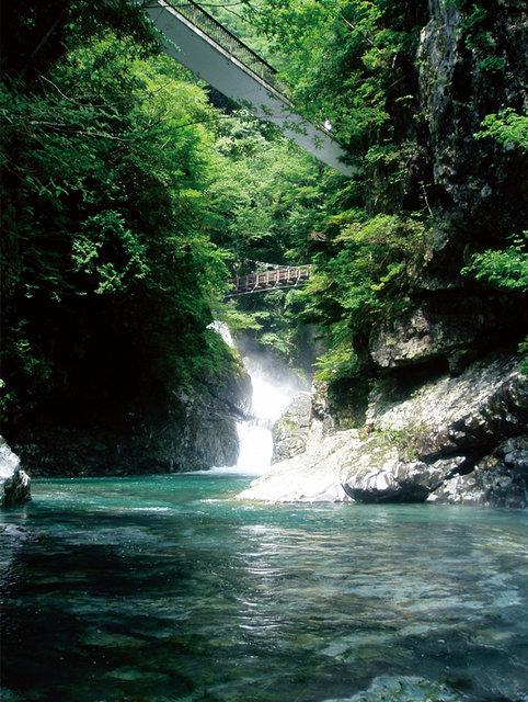 みたらい渓谷  |      天川村公式サイト観光ページ