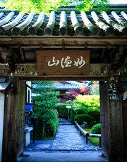 京都嵐山観光の寺 鈴虫寺