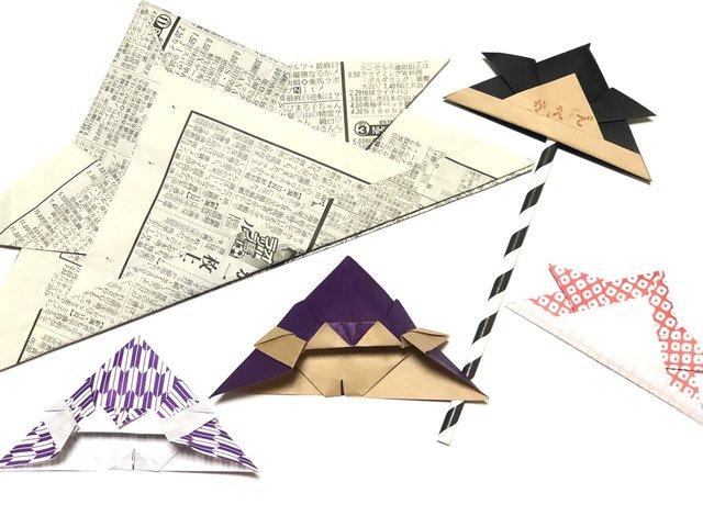 折り紙や新聞紙を使用してかぶとの工作!こどもの日を楽しもう - teniteo[テニテオ]