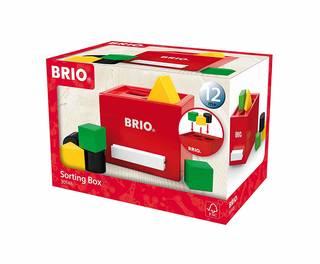 BRIO 形合わせボックス(レッド) 30148がはめ...