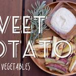 焼き野菜にピッタリな豆腐ディップとほんのり甘いスイートポテトサラダのつくり方