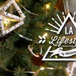 ストローで簡単ハンドメイド♪北欧の伝統装飾ヒンメリでクリスマスツリーを飾ろう!