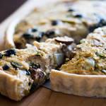 チーズや卵を使わず、お豆腐とたっぷり野菜で作る『野菜のキッシュ』のレシピ