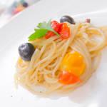 ひとつの鍋でできるプチトマトとオリーブのアンチョビ本格パスタ