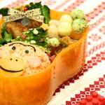 【クリスマスver】キャラ弁レシピ:はなかっぱの作り方