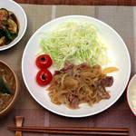 30分で3品!管理栄養士の北嶋佳奈さんによる豚のしょうが焼き+2品のつくり方