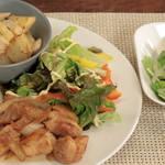 30分で3品!管理栄養士の北嶋佳奈さんによる「ハニー照り焼きチキン+2品」のつくり方