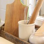 使い慣れたキッチン道具を好きな色に塗って、自分だけのお気に入りの道具を作ろう♪