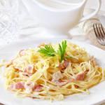 本場ローマの味をおうちで!スパゲッティーカルボナーラを作ろう♪