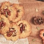 ハロウィンに最適!カボチャとクルミの型無しクッキーのつくり方