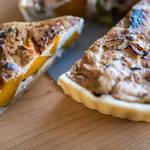 食べ応えのあるちょっとおしゃれな朝ごはん。ほくほくかぼちゃとインゲンのキッシュ!