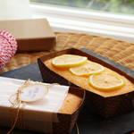 新年のごあいさつに♪ふんわり可愛いレモンケーキ