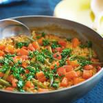 フライパンで作れるサフランいらずの野菜のパエリア♪