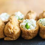 春のお弁当にオススメな旬の菜の花を入れたゆずが香るいなり寿司