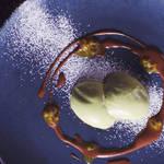 抹茶のブランマンジェ~チョコパッションソース| SOUL FLAVOR