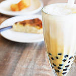 おうちカフェレシピ♪もっちもちタピオカが入った濃厚でまろやかなタピオカミルクティー!