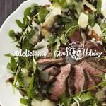 タリアータ・ディ・マンゾ(牛肉の薄切りレアステーキ) | Chef's Holiday