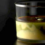 焼かない かぼちゃ&抹茶のマーブルプリン| SOUL SWEETS