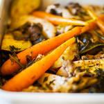 きのこと野菜がいっぱい♡秋の味覚を包んだホイル焼き