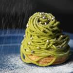 まるでクリスマスツリー♡ さつまいもと抹茶のツリーモンブラン | SOUL SWEETS