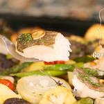 オーブンまかせのごちそう♪白身魚の天板ロースト