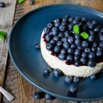 ワンボウルで簡単♡山盛りブルーベリーのレアチーズケーキ