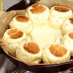 とろ〜りチーズと召し上がれ♪ フライパンでつくるハーブちぎりパン!