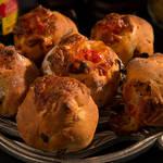 トマトの旨みが凝縮!ドライトマトチーズパン