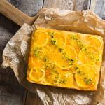しっとり爽やか♪オレンジマーマレードのアップサイドダウンケーキ