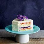 お祝いやパーティーに♡何段にも重なった豪華なサンドイッチケーキ♪