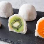 果物の甘みと酸味があんこにベストマッチ!カラフル♡フルーツ大福