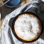 ふっくらしっとり優しい甘さ。土鍋で作る大きなコーンブレッド!