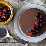 ベイクドなのにレア?両方のいいとこ取りした濃厚なチョコレートベイクドレアチーズケーキ
